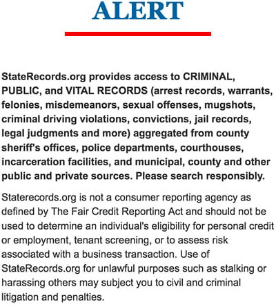 State Records   StateRecords.org